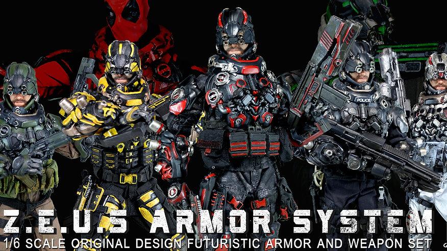 Z.E.U.S Armor : Calvin's Custom X Project War Mobile