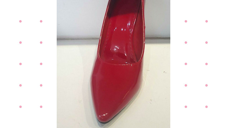 Red Court Shoe BS-12924