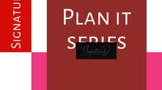 Plan It Podcast - Signature D