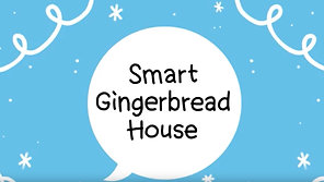 Smarthome Gingerbread House
