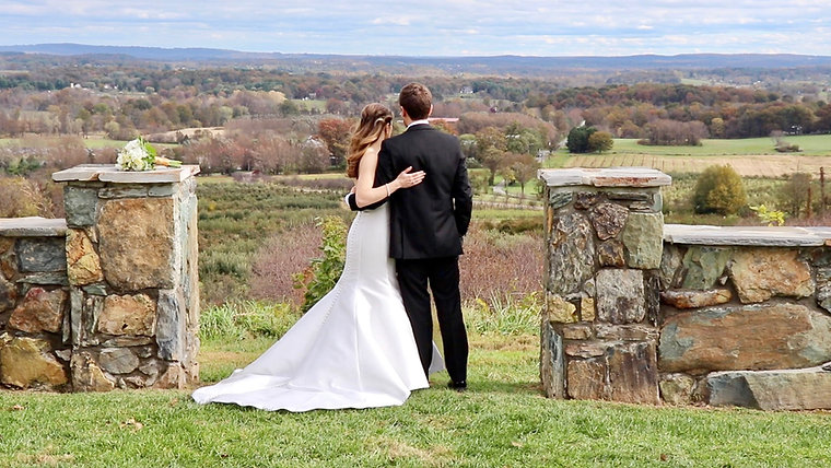 Adrienne & Stephen Wedding at the Stable at Bluemont Vineyard, Bluemont, Virginia