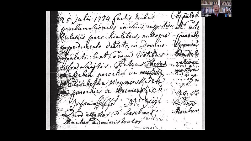 Church Records in Germany by  Dr Roger Mintert