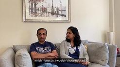 Sajeev and Bindu video testimonial