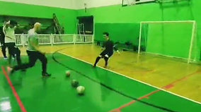 Presença do atual goleiro do S.C.Corinthians Pta em nosso treino de goleiros no Açaí Clube.