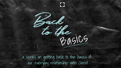 Back to the Basics - Love