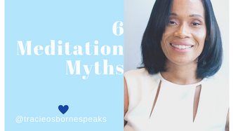 Mindful Nugget w/Tracie Osborne (T.O.)  6 myths of meditation😊💙🌬  Share some of your meditation myths in the comments👇