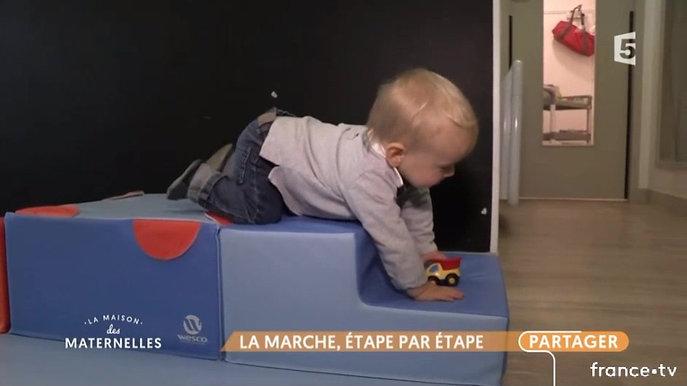 La Maison des Maternelles  Comment la marche vient aux bébés ?