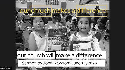 Sermon of June 14, 2020