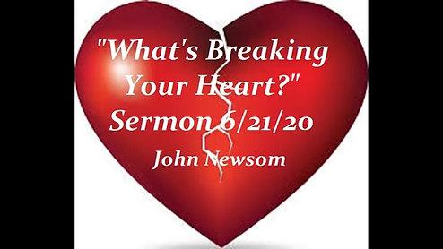 Sermon of June 21, 2020