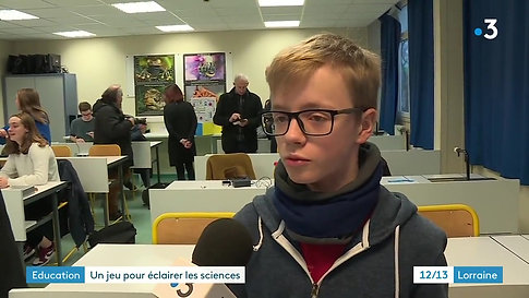 France 3 : Reportage e-Lumi du 17/01/20