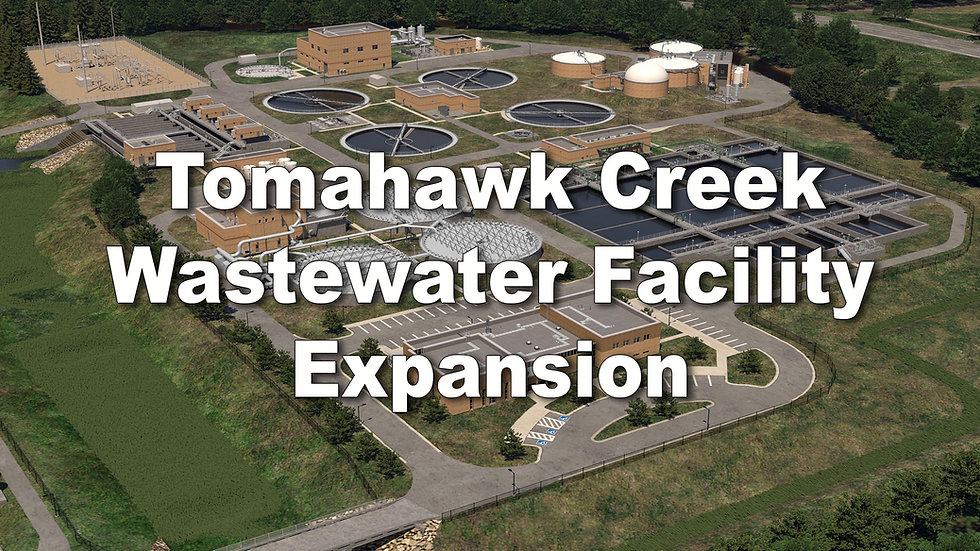 Tomahawk Creek Wastewater Treatment Facility Expansion 2018-2022