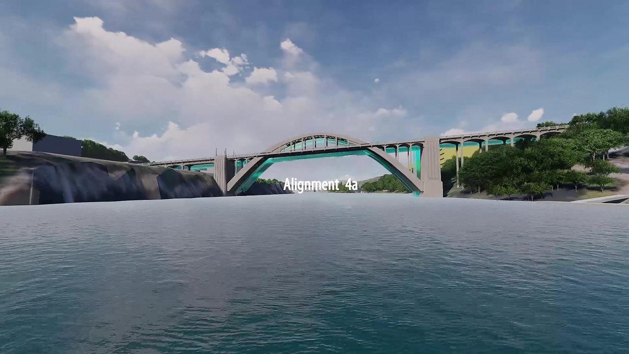 Willamette River Crossing Alignments
