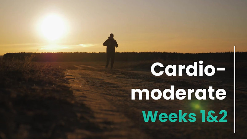 Cardio-Mod Week 1 and 2