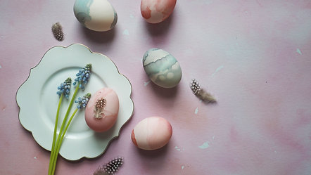 How To: Decorated Eggs 6 Ways