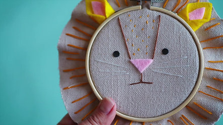 Little Lars the Stitched Lion Cub