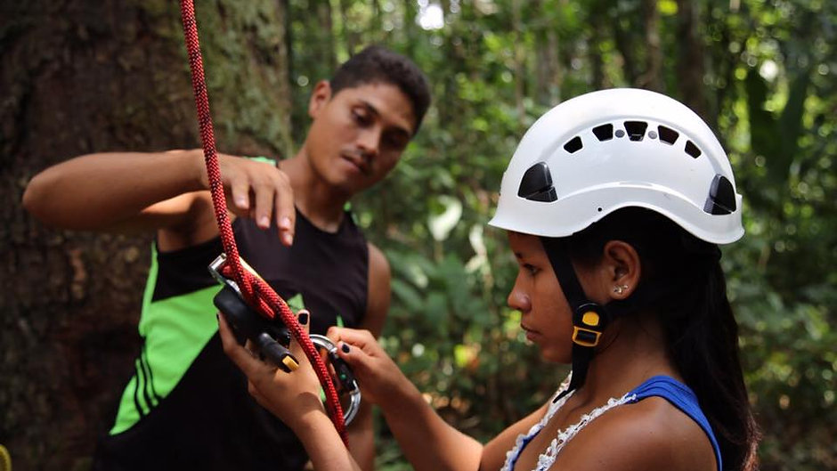 Training Indigenous Forest Protectors