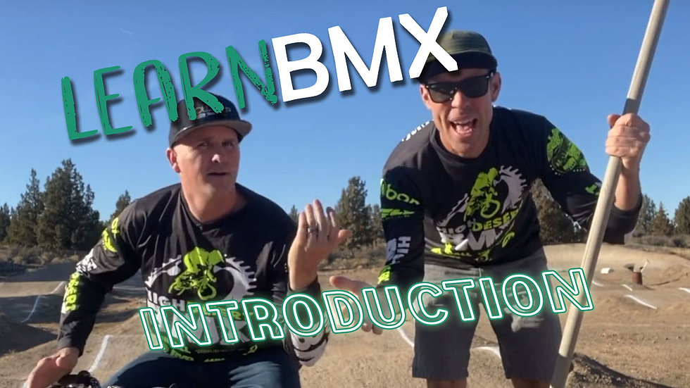 Learn BMX Intro Vid