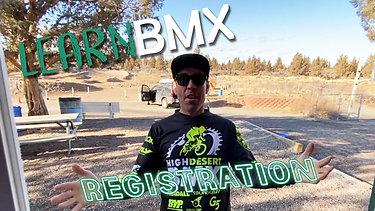 LearnBMX Registration