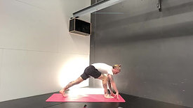 Vinyasa w Handstand drills with Shane