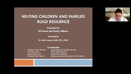 Helping Children and Families Build Resilience