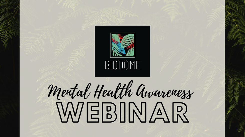 Mental Health Awareness Webinar
