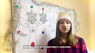 """Тематическое занятие по английскому языку на тему """"Рождество"""" 🎄 в Центре иностранных языков """"SMART"""". Дети загадывают желания на английском языке, просят у Санты-Клауса те подарки, которые хотели бы получить в новогоднюю ночь ))"""