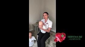 Choking Infant