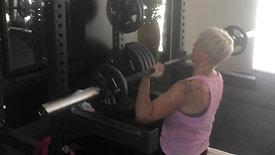 shoulder press strength lift60 class