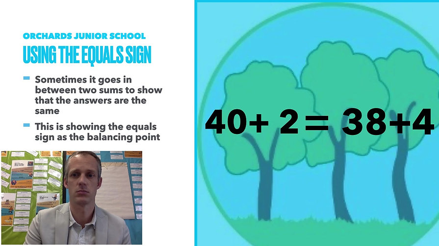 Year 6 Week Beginning 25th January - Equals Sign