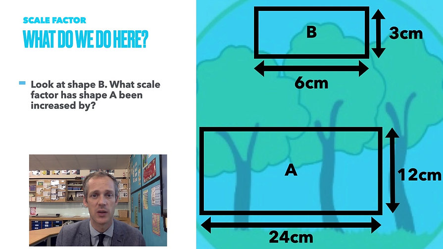 Year 6 Week Beginning 8th March - Scale Factor