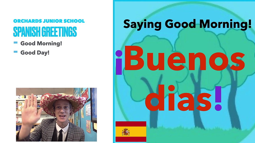 Year 3 Spanish Introductions Spring 2
