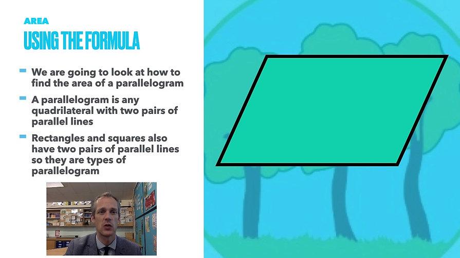 Year 6 Week Beginning 8th March - Area of Triangle & Rhombus