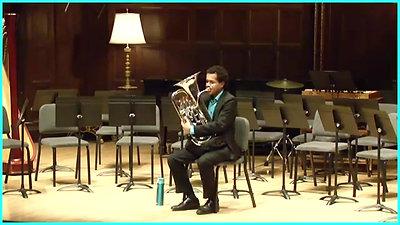 Bach Concerto - Euphonium