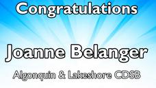 Episode 1: Joanne Belanger (Algonquin & Lakeshore CDSB)