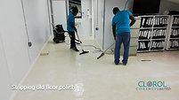 Vinyl (VCT) Floor Polishing
