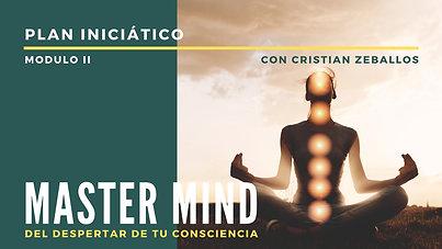 Plan Iniciático - Master Mind - Modulo 2