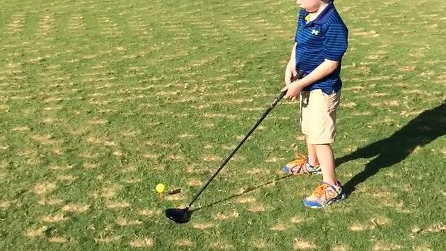 Keaton Golfing
