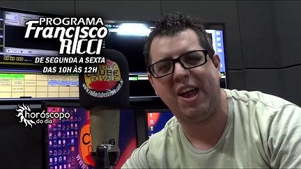 PROGRAMA FRANCISCO RICCI (CHAMADA)