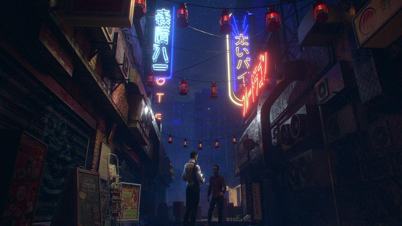 Street Scene - Houdini, Renderman, Nuke