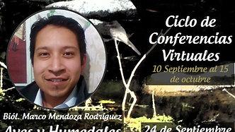 #ConferenciaVirtual: Aves y Humedales en Hidalgo 🦆♥️