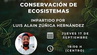 #ConferenciaVirtual: Conservación de Ecosistemas