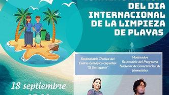 """#Webinar: """"Día Mundial de limpieza de playas"""""""