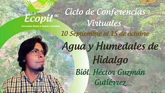 #ConferenciaVirtual: Agua y Humedales
