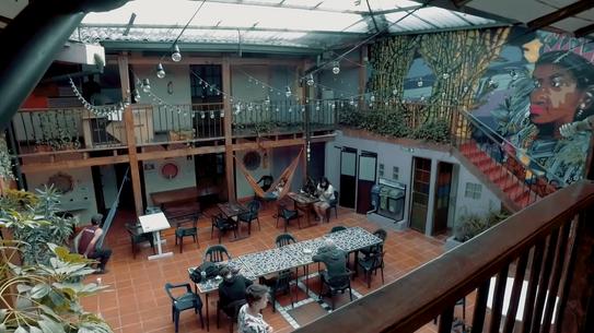 Colombian Hostels -Bogotá