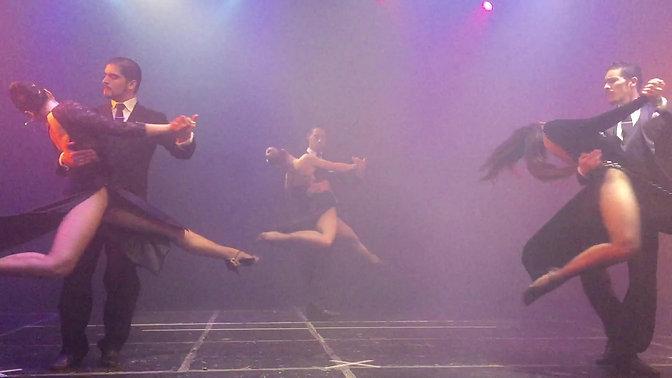 Backstage Tango shoot