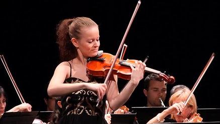 Beethoven Violin Concerto, 3rd mvmt excerpt