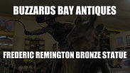 BBA Frederic Remington Bronze Statue