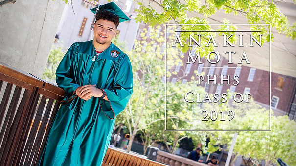 Anakin - Pebble Hills HS Senior Portrait