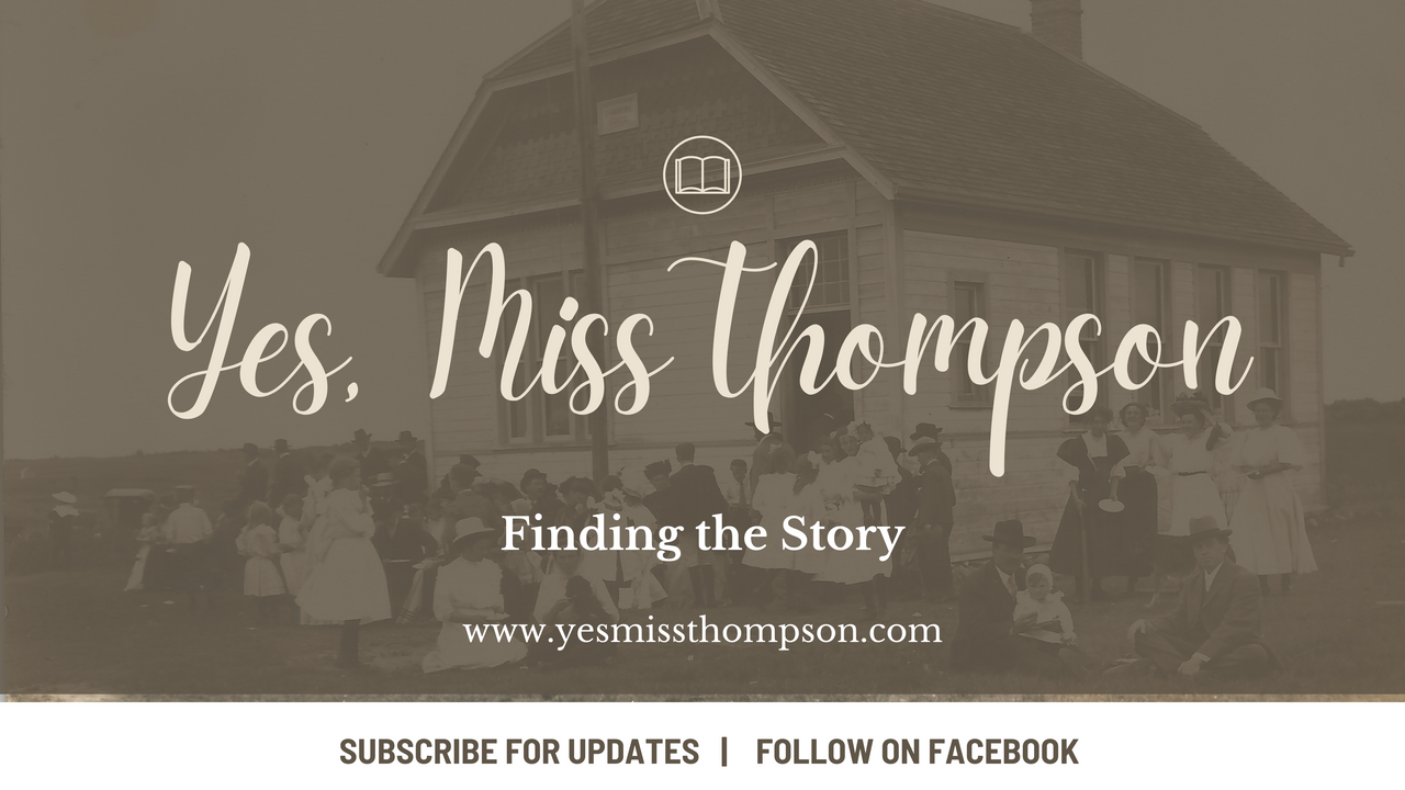 "Introducing ""Yes, Miss Thompson"" - Finding the Story"