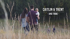 Caitlin & Trent (and tribe)